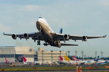 N177UA - United Airlines Boeing 747-400