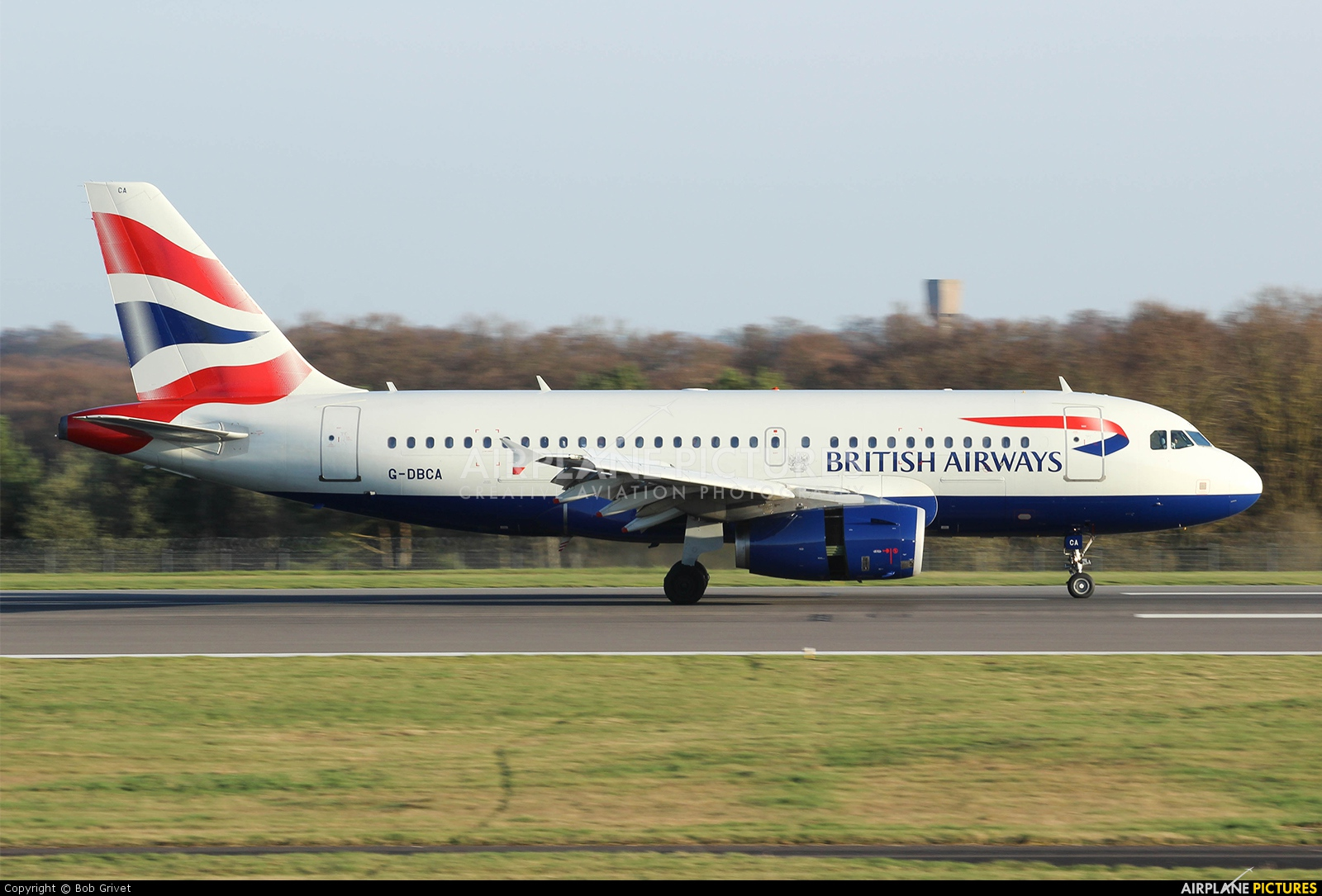 British Airways G-DBCA aircraft at Luxembourg - Findel