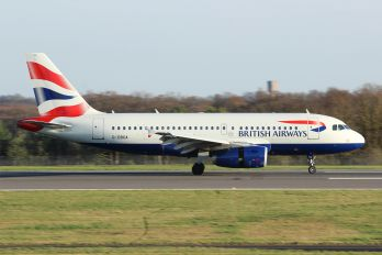 G-DBCA - British Airways Airbus A319