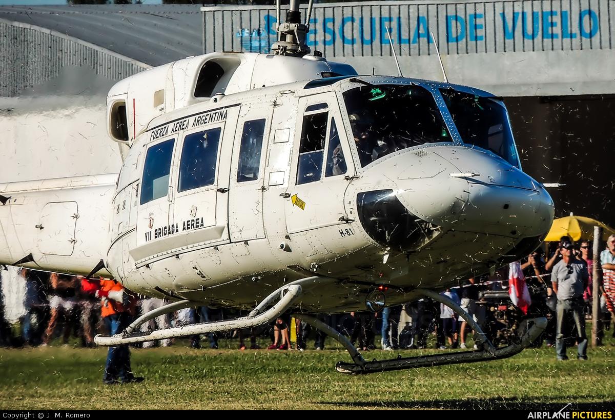 Argentina - Air Force H-81 aircraft at General Rodríguez