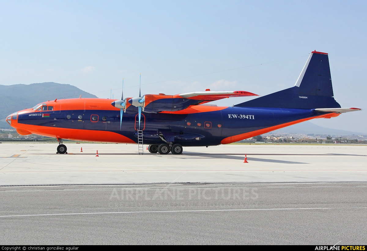 Ruby Star Air Enterprise EW-394TI aircraft at Málaga
