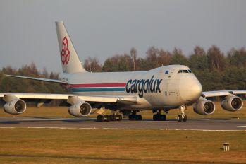 LX-OCV - Cargolux Boeing 747-400F, ERF