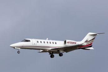 N700KG - Private Learjet 40