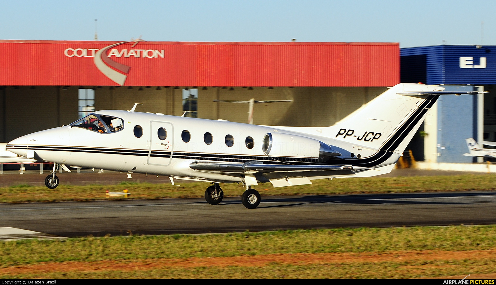 Private PP-JCP aircraft at Jundiaí, SP