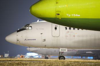 RA-85699 - S7 Airlines Tupolev Tu-154