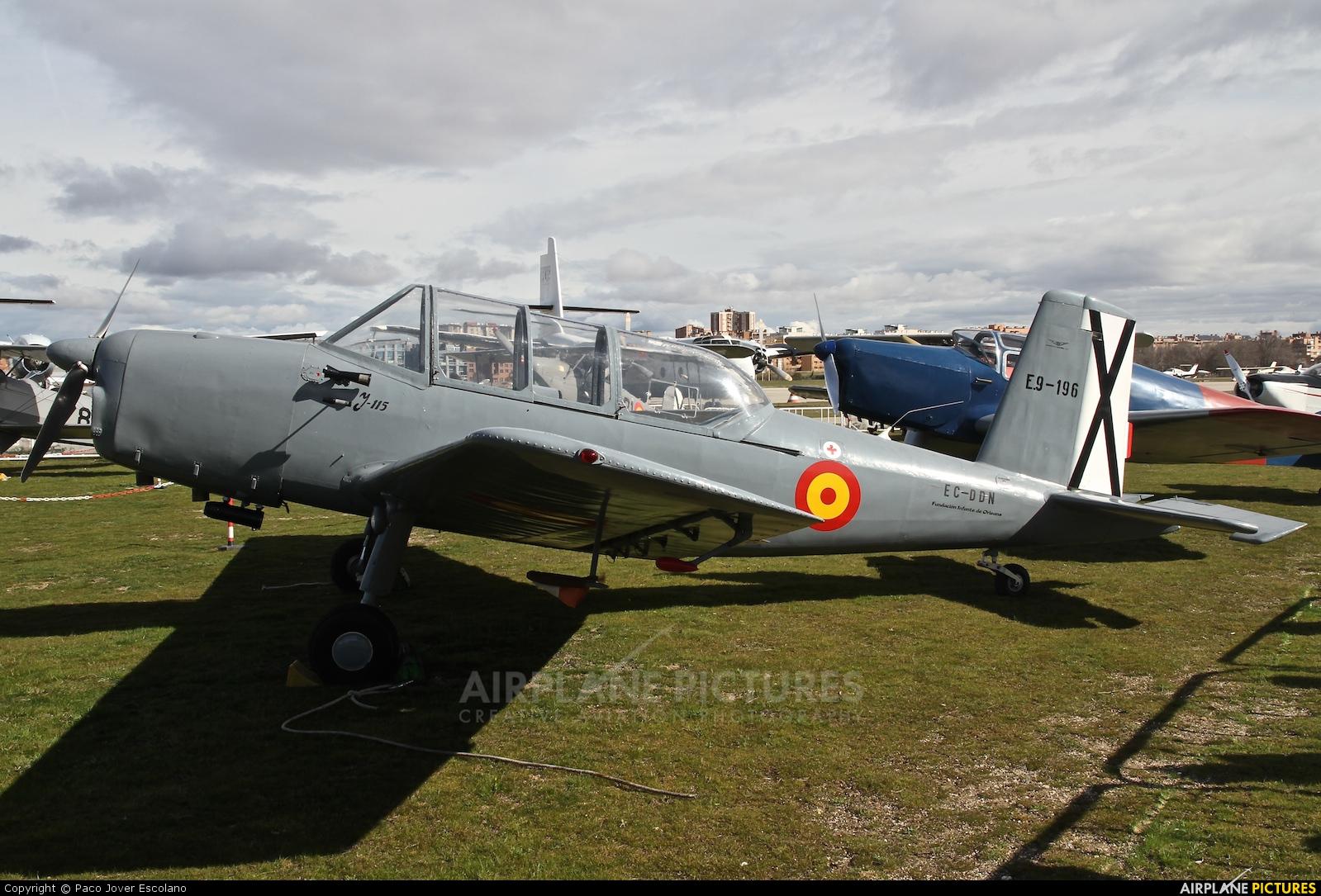 Fundación Infante de Orleans - FIO EC-DDN aircraft at Madrid - Cuatro Vientos