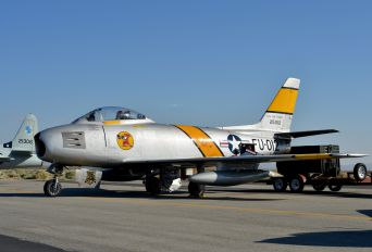 NX186AM - Air Museum Chino North American F-86F Sabre