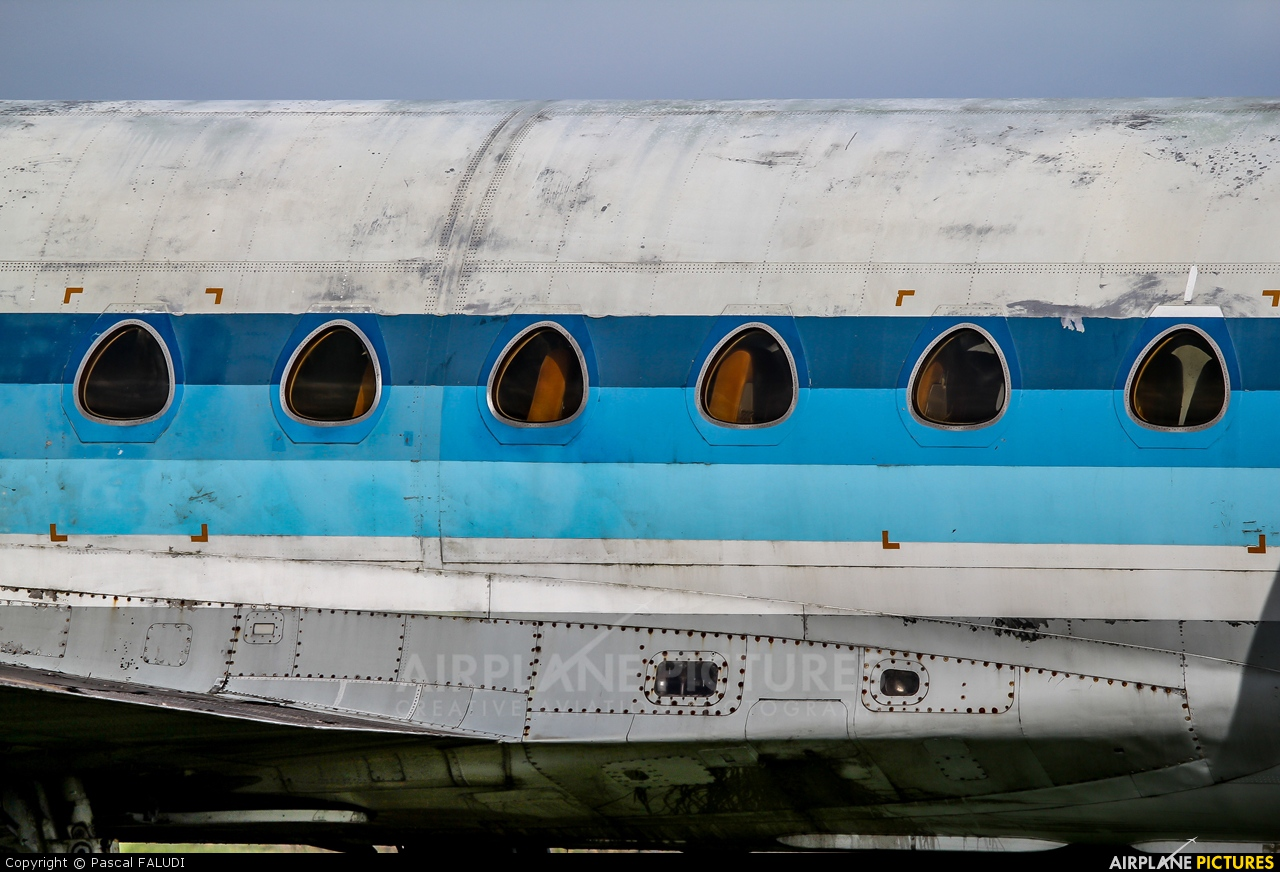 Air Inter F-GCVJ aircraft at Rennes - St Jacques