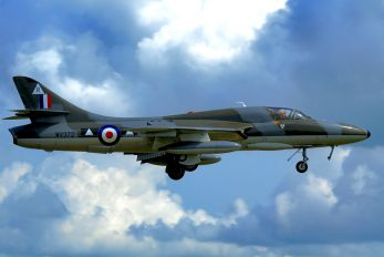 G-BXFI - Hunter Flying Hawker Hunter T.7