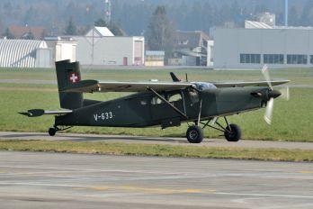 V-633 - Switzerland - Air Force Pilatus PC-6 Porter (all models)