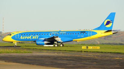 PT-THT - Aerosvit - Ukrainian Airlines Embraer ERJ-190 (190-100)