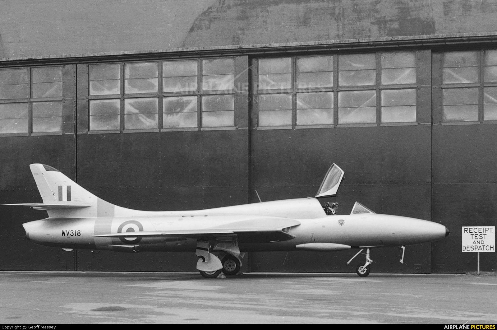 Royal Air Force WV318 aircraft at Benson