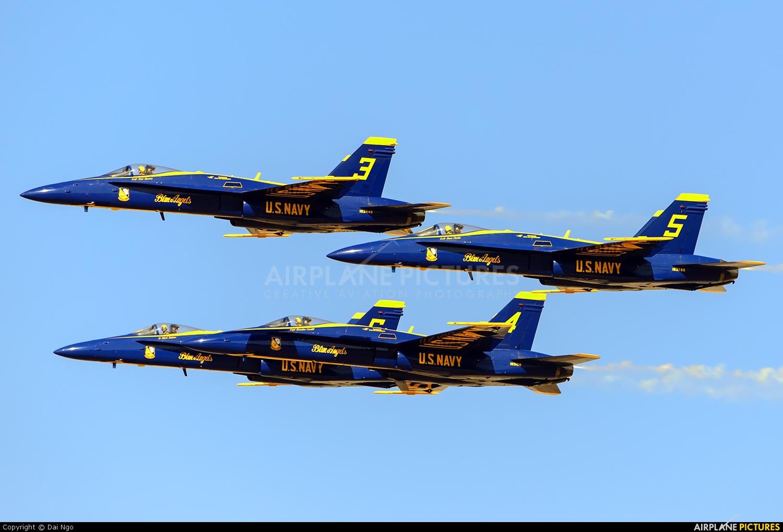 USA - Navy : Blue Angels 163442 aircraft at El Centro NAS