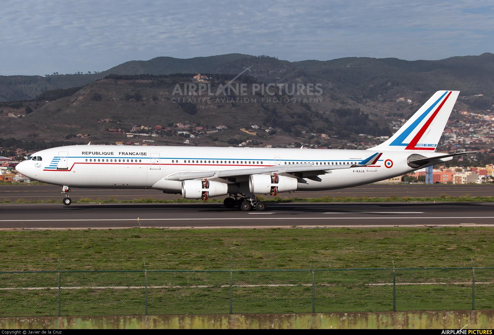 France - Air Force F-RAJA aircraft at Tenerife Norte - Los Rodeos