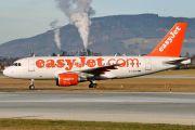 G-EZDO - easyJet Airbus A319 aircraft