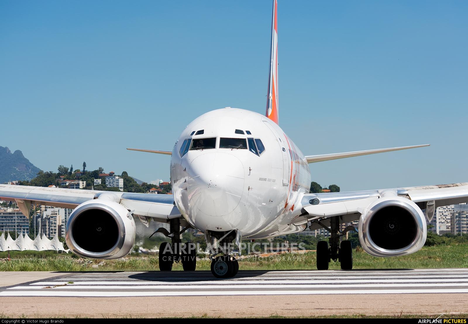 GOL Transportes Aéreos  PR-VBW aircraft at Rio de Janeiro - Santos Dumont