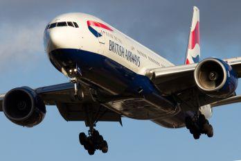 G-YMMH - British Airways Boeing 777-200ER