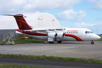 EI-RJS - Air Annobón British Aerospace BAe 146-200/Avro RJ85
