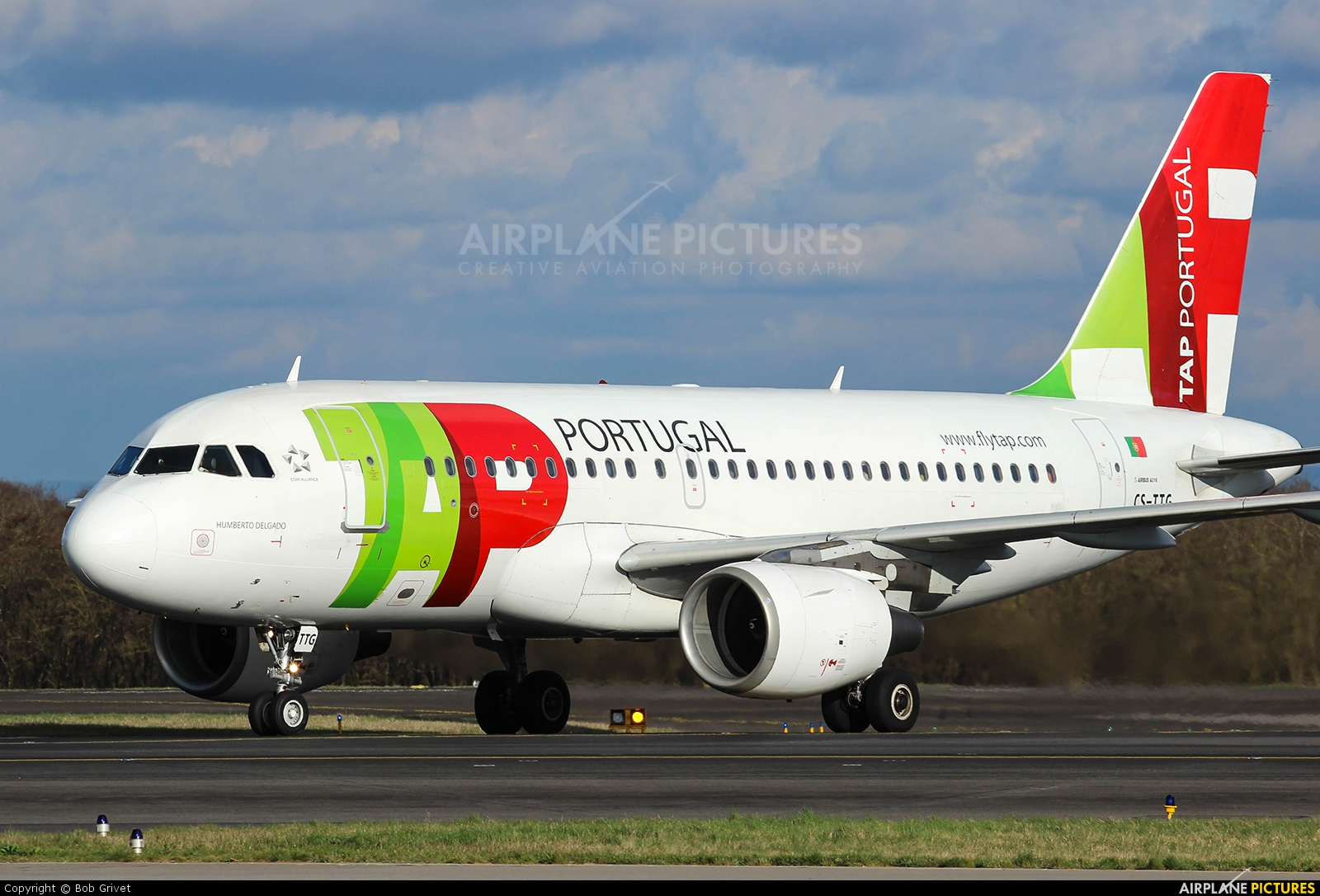 TAP Portugal CS-TTG aircraft at Luxembourg - Findel