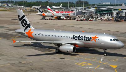9V-JSO - Jetstar Asia Airbus A320