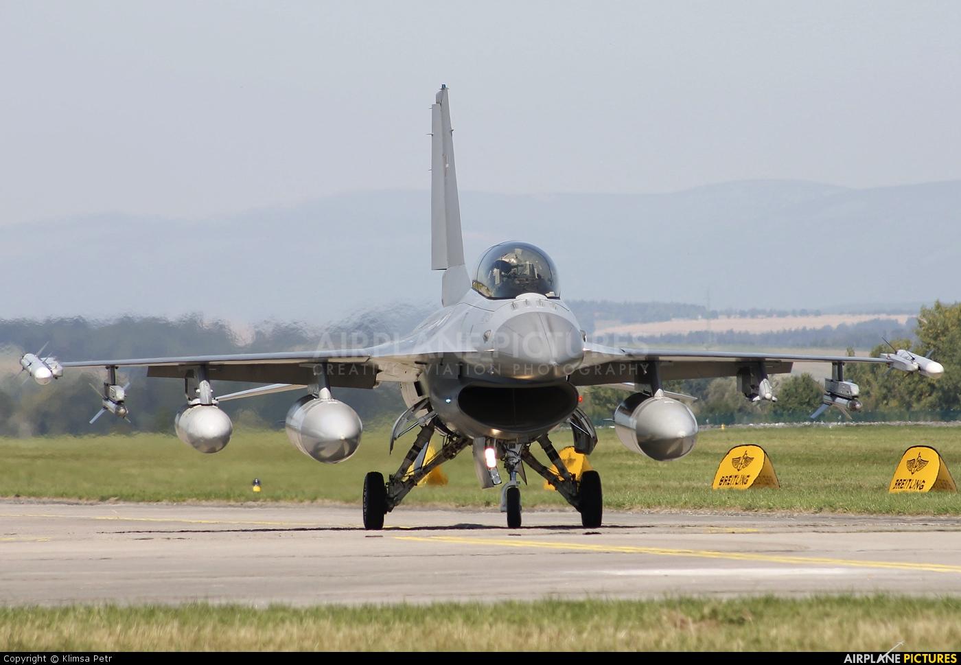 Denmark - Air Force E-603 aircraft at Hradec Králové