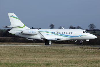 XA-BLZ - Private Dassault Falcon 2000LX