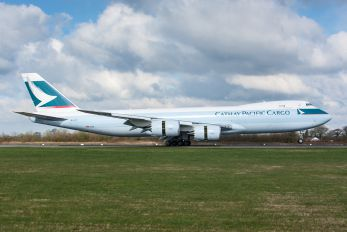 B-LJD - Cathay Pacific Cargo Boeing 747-8F