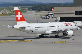 HB-IJR - Swiss Airbus A320