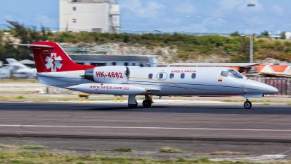 HK-4662 - Private Learjet 35 R-35A