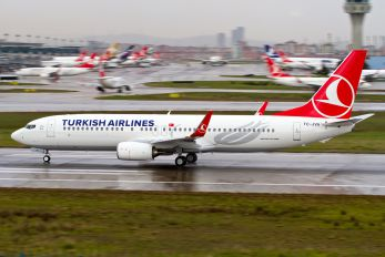 TC-JVA - Turkish Airlines Boeing 737-800