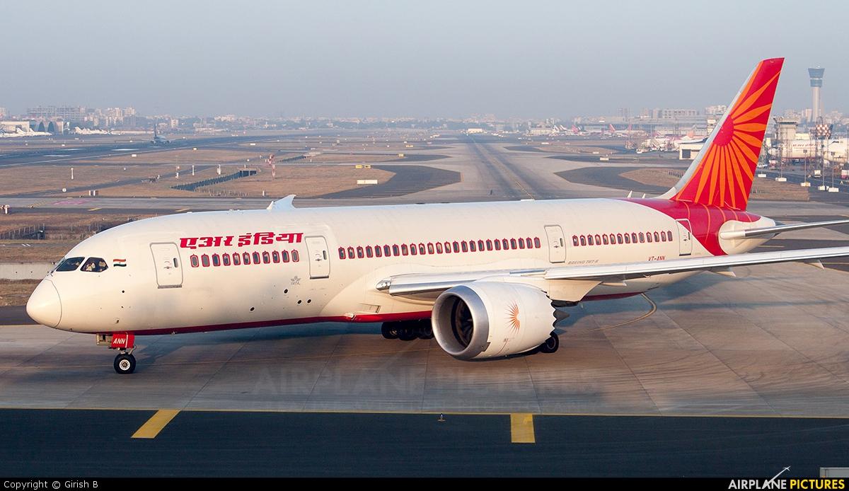 VT-ANN - Air India Boeing 787-8 Dreamliner at Mumbai ...