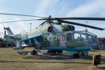 20 - Russia - Air Force Mil Mi-24A