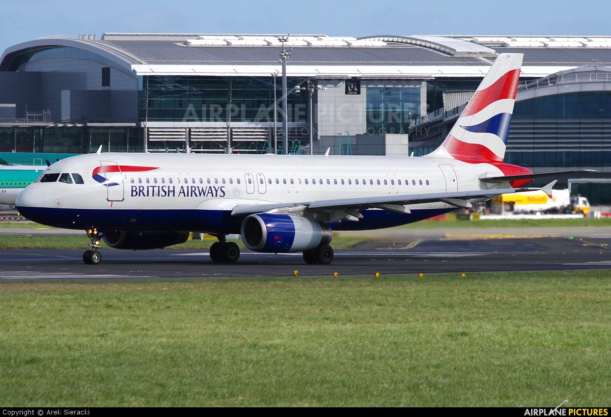 g midy british airways airbus a320 at dublin photo id On midy