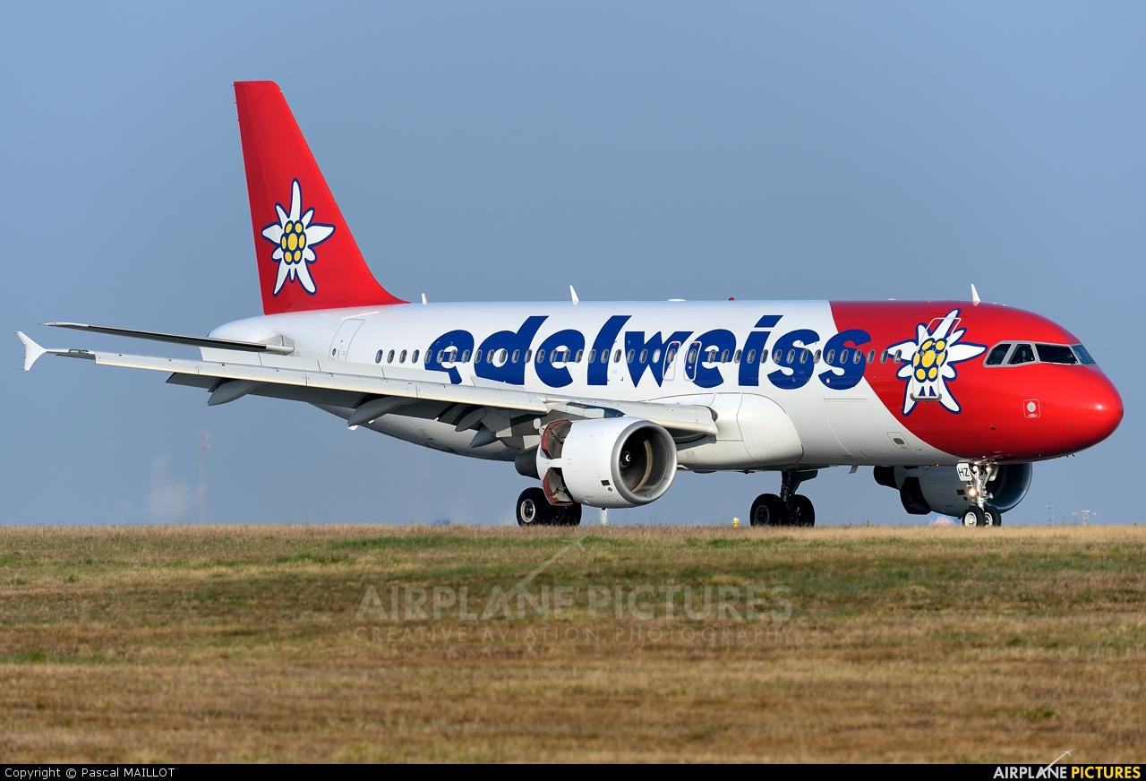 Edelweiss HB-IHZ aircraft at Paris - Charles de Gaulle