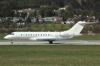 M-SSSR - Private Bombardier BD-700 Global Express