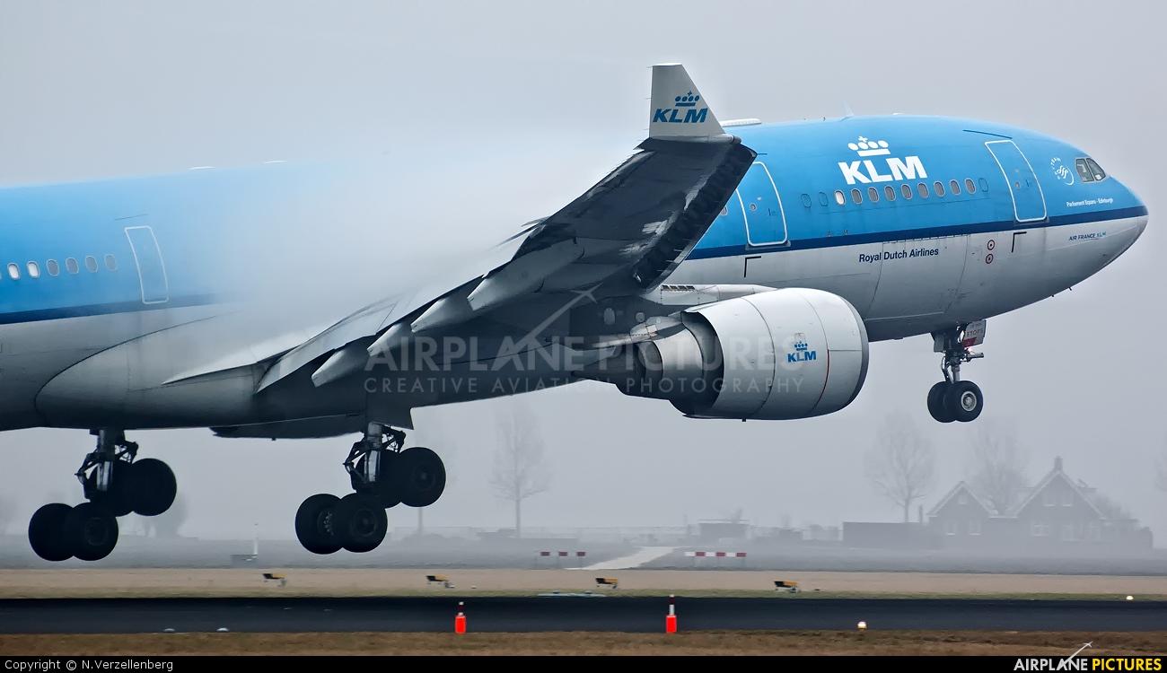 KLM PH-AOH aircraft at Amsterdam - Schiphol