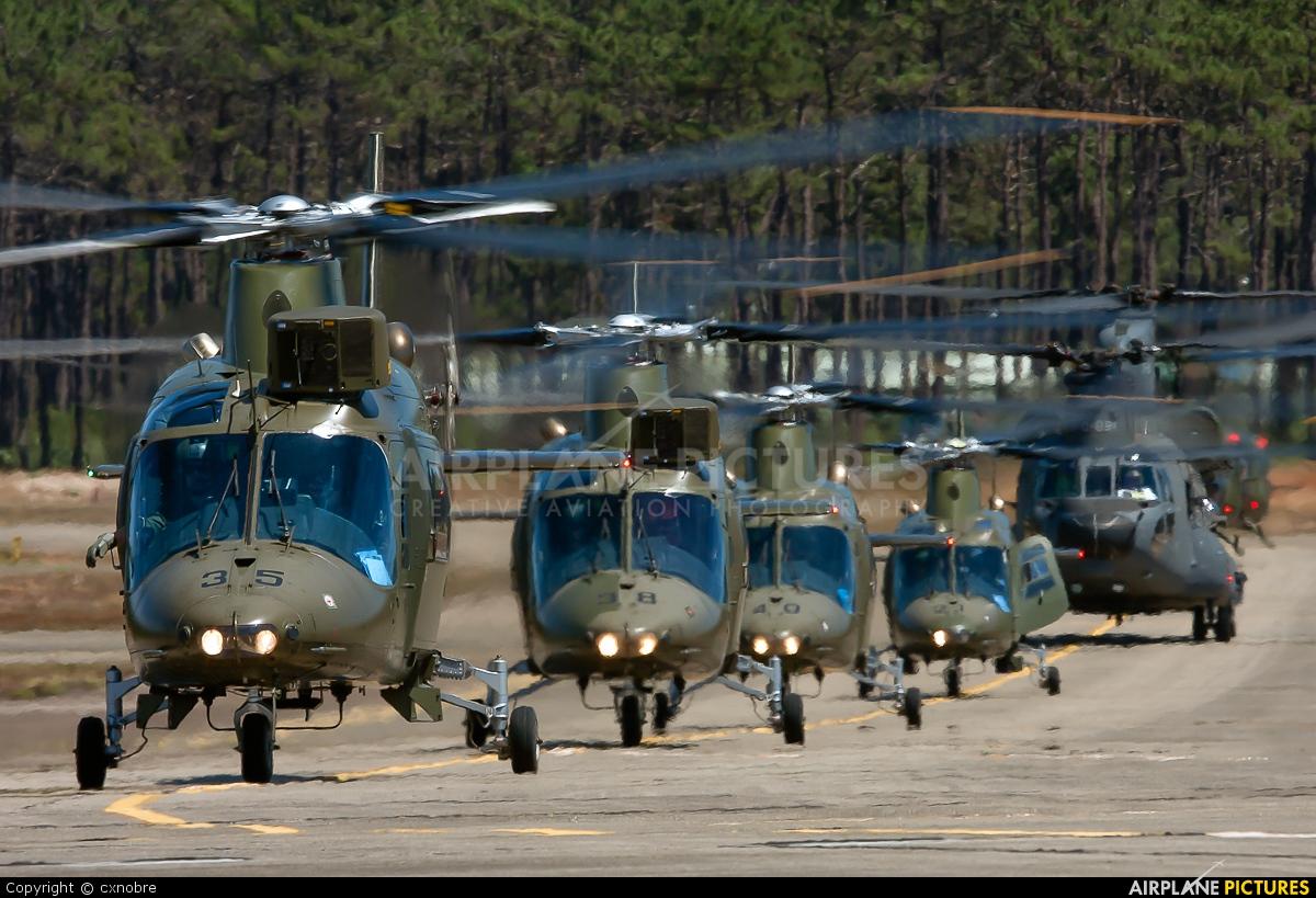 Belgium - Air Force H35 aircraft at Ovar