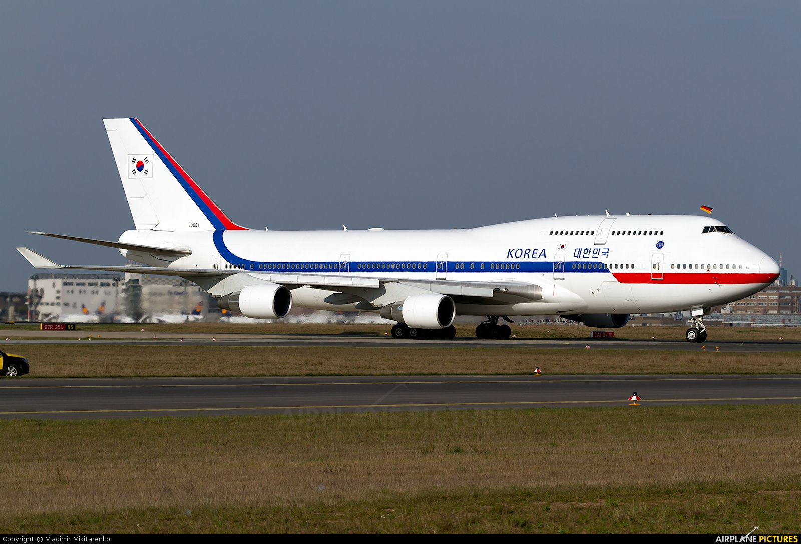 Korea (South) - Air Force 10001 aircraft at Frankfurt