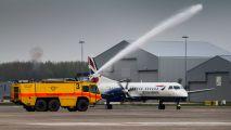 G-CDEB - British Airways SAAB 2000 aircraft