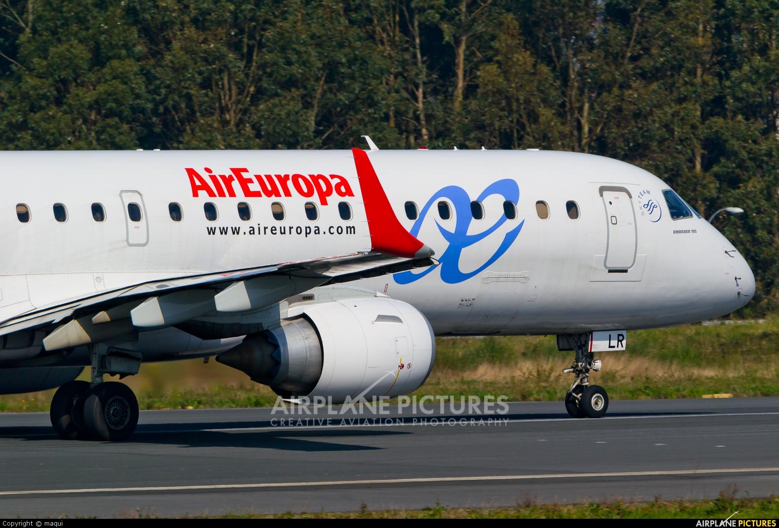 Air Europa EC-LLR aircraft at La Coruña