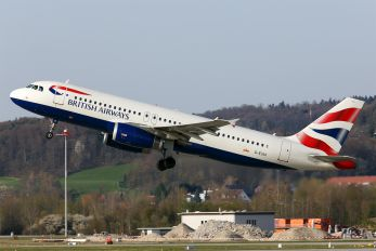 G-EUUI - British Airways Airbus A320