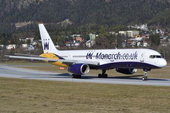 G-DAJB - Monarch Airlines Boeing 757-200