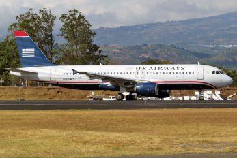 N105UW - US Airways Airbus A320