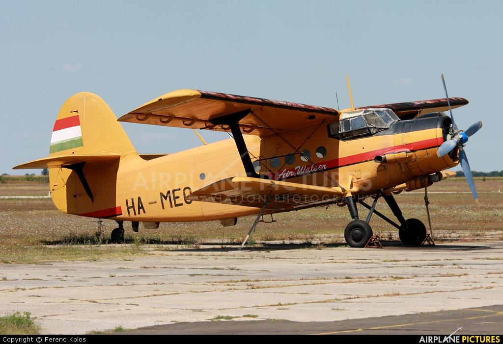 Air Service Hungary HA-MEO aircraft at Kaposújlak