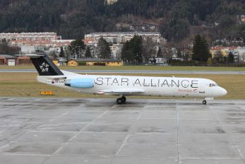 OE-LVG - Austrian Airlines/Arrows/Tyrolean Fokker 100