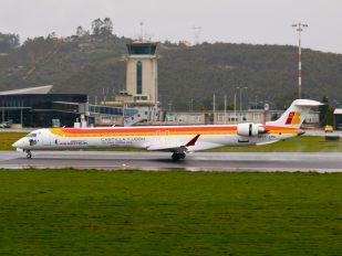 EC-LPG - Air Nostrum - Iberia Regional Canadair CL-600 CRJ-1000