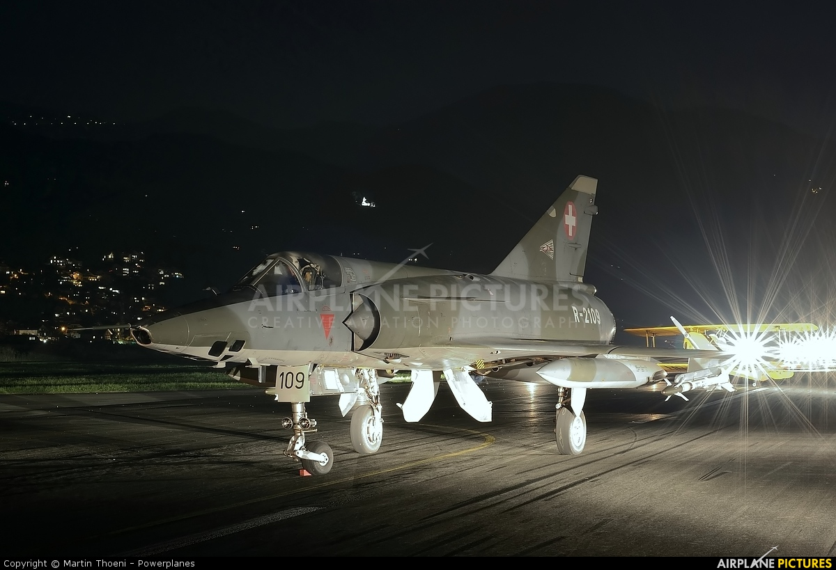 Switzerland - Air Force R-2109 aircraft at Buochs