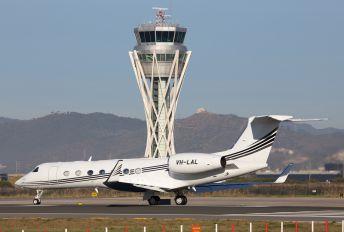 VH-LAL - Private Gulfstream Aerospace G-V, G-V-SP, G500, G550