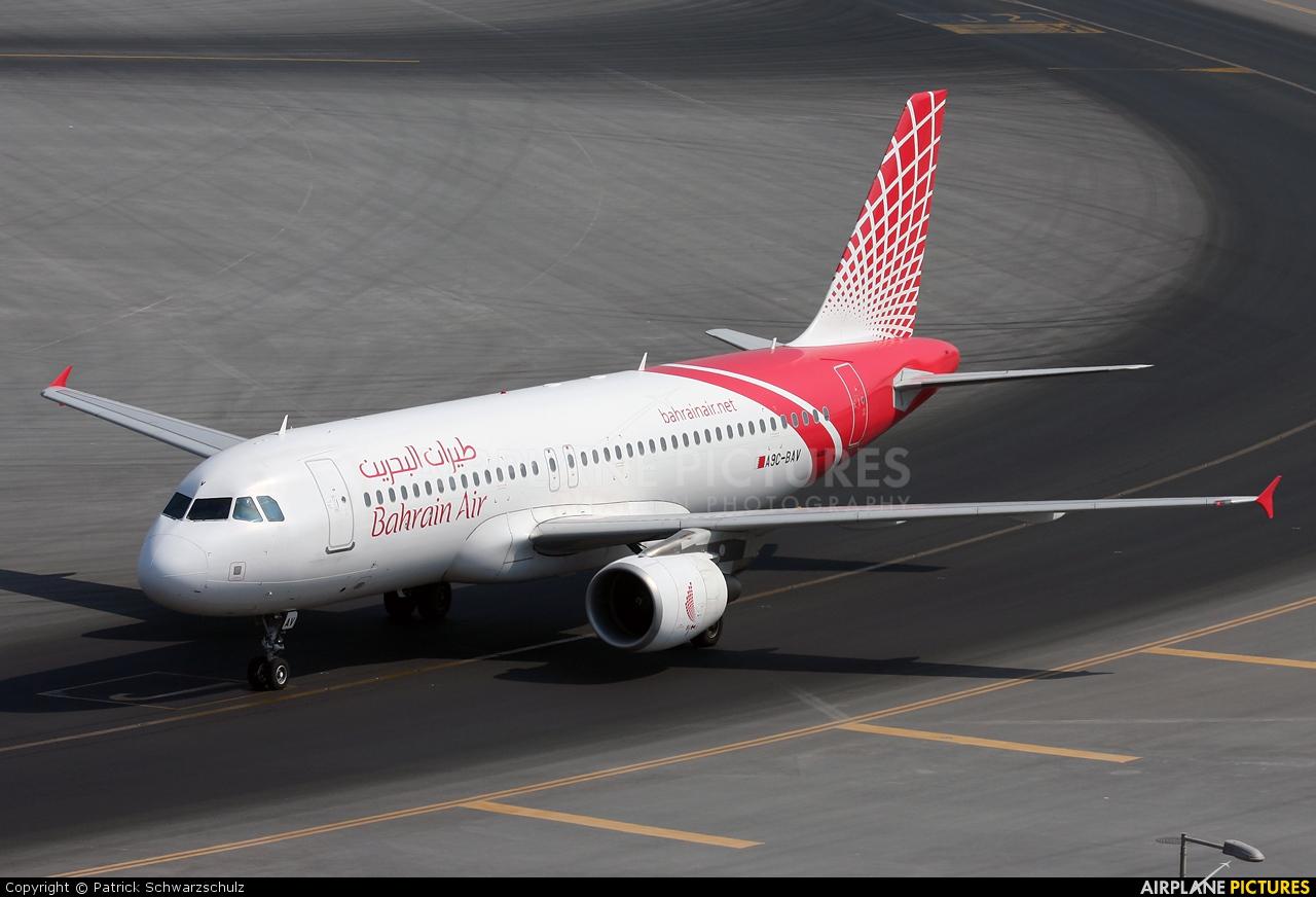 Bahrain Air A9C-BAV aircraft at Dubai Intl