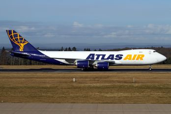 N854GT - Atlas Air Boeing 747-8F